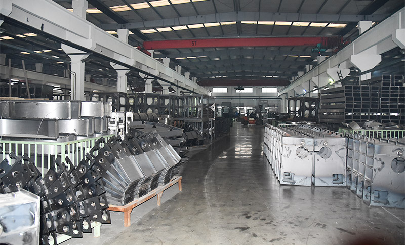 Zhengzhou VOS Machinery Equipment Co., Ltd. factory working warehouse