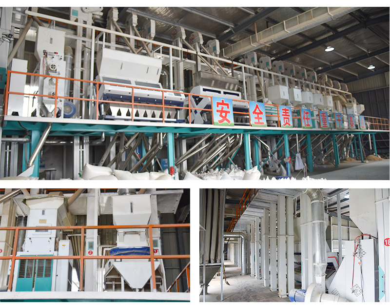 rice mill plant at site