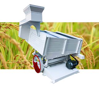paddy rice separator in rice mill plant