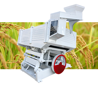 rice separator machine in rice processing plant
