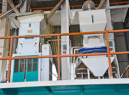 100ton rice mill plant