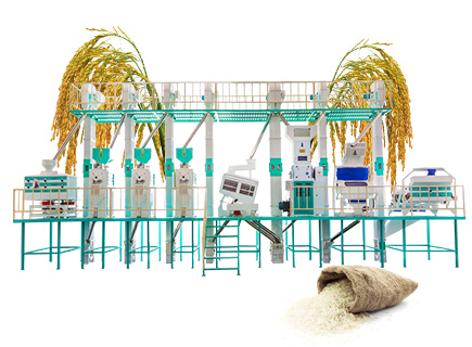 60ton/day rice mill production line