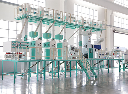 60ton rice mill production line
