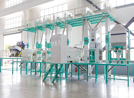 38ton rice mill plant