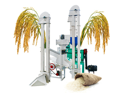 500kg/h rice mill plant