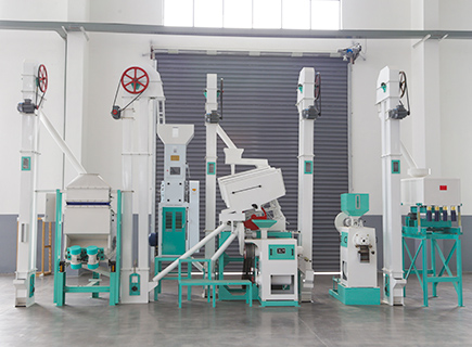 25ton rice mill production line