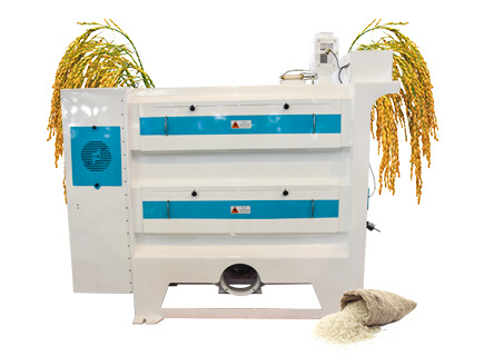 rice polisher in rice mill plant
