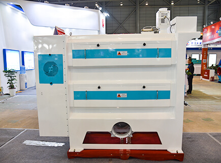 rice polishing machine in rice mill plant