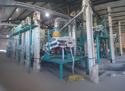 20TPD maize mill machines supplier