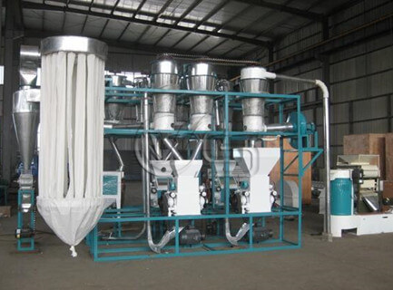20TPD maize mill machines