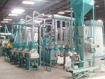 20TPD maize milling machine for sale