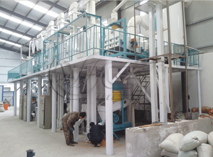 30TPD maize mill plants for sale