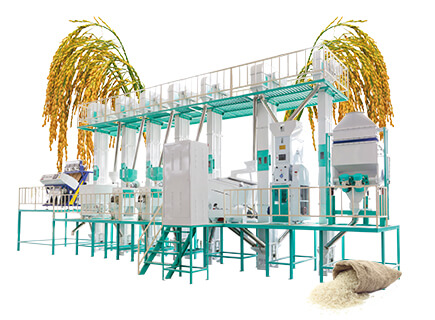 40tpd rice processing plants