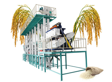 40tpd rice processing plant price