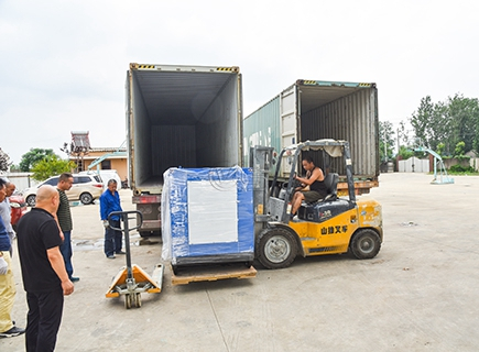<b>60T/D Rice Mill Plant Packing and Shipping for Nigeria</b>