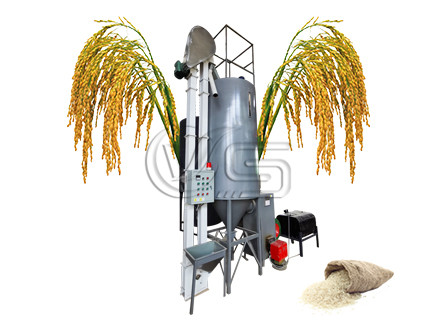 small grain dryer for rice mill plant